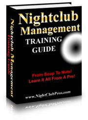 Bar/Nightclub Management Training Guide
