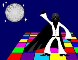 LED Panel Disco Cartoon